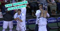 Equipe de basquete que sabe como comemorar os pontos do seu time >> http://www.tediado.com.br/12/equipe-de-basquete-que-sabe-como-comemorar-os-pontos-do-seu-time/