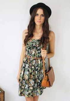 Floral Midi Skirt or Mini Dress  £32