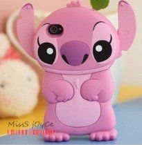 Pink Disney Stitch Movable Ear Flip Hard Case Cover for Iphone --makes me mad this is for iphone.iphone tempting me again!