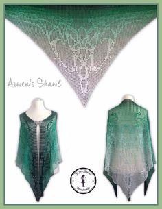 Arwen's Shawl #crochet