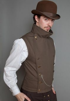 Pinkerton Vest | LastWear Steampunk Clothiers Extraordinaire