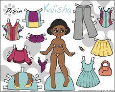 Pixie & Puck: Kalisha - Paper Thin Personas | Paper Thin Personas