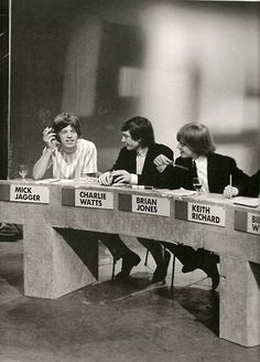 theswinginsixties:  Rolling Stones press conference.