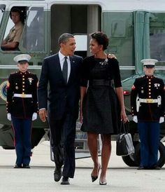 Our President of the United States and the first Lady