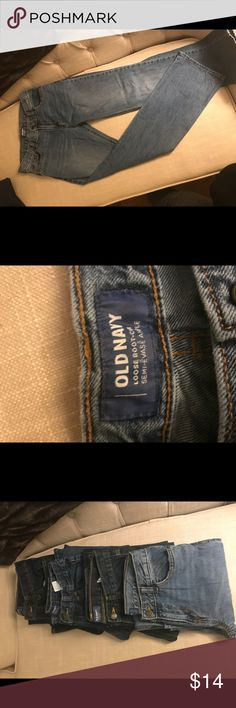 368067b1bf9 Old Navy Loose Boot Cut Jeans Size 14 Boys Size 14