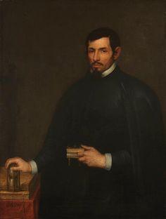 Retrato de un eclesiástico (Hispanic Society). Alonso Cano