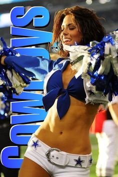 | Cowboys cheerleader | Jeopardy music plays softly. Answer: Effeminate acrobats, lady zebras, gorillas trimmed in pink. Question: What do the NFL and the circus have in common? Real Women, Young Women, Panthers Cheerleaders, Remember The Titans, One Of The Guys, Baby Gates, Hate Men, Athletic Body, Guys And Dolls