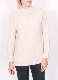 L:C Babe   Achro Side Slit Pullover Sweater