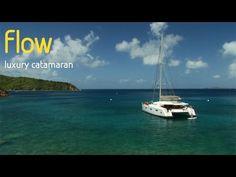 Luxury catamaran Flow yacht charters in the Caribbean