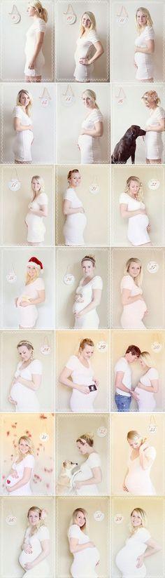 Maternity photo idea #PinAtoZ