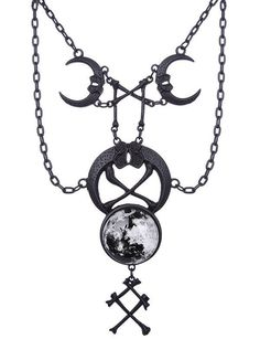 Restyle - Ritual Black Necklace