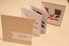 Self Promotional Mailer by Brittany Henson, via Behance