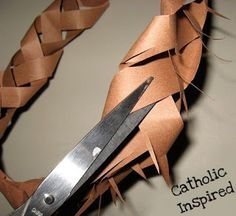 Make a Paper Crown of Thorns! - Catholic Inspired