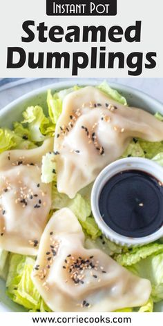 Vegan-friendly Instant Pot recipe you can make in only 20 minutes!    If you're not in a hurry and want to discover the real experience behind this dish, you can make your own wrappers, with dough. There are lots of recipes online, so I will trust you to choose the one that works best for your needs and taste. Vegan Dumplings, Steamed Dumplings, Dumpling Recipe, Beef Recipes, Soup Recipes, Vegan Recipes, Instant Pot Pressure Cooker, Pressure Cooker Recipes, Instant Pot Steam
