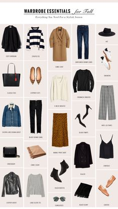 The Perfect Fall Wardrobe Capsule For a Chic Season - gaby burger Capsule Outfits, Fashion Capsule, Fall Outfits, Fashion Outfits, Womens Fashion, Petite Fashion, Work Outfits, Travel Outfits, Curvy Fashion