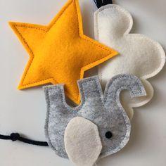 Muziekmobiel CUSTOM MADE - boxmobiel - Muffie & Snuffie -babyuitzet - wolvilt - babykamer - kinderkamer - handgemaakt - baby - zwanger - kraamkado