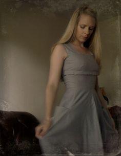My 50's style dress! Pattern free online...
