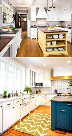 25-beautiful-paint-colors-for-kitchen-cabinets-apieceofrainbowblog (10)