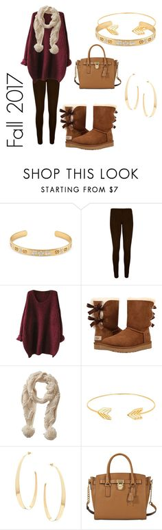 """""""Fall 2017"""" by adulak on Polyvore featuring Gucci, WearAll, UGG, Betty Barclay, Lord & Taylor, Lana and MICHAEL Michael Kors"""
