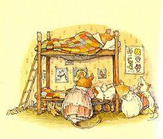 The ADVANCED ART: JILL Barkla. ILLUSTRATION OF TALES OF MICE