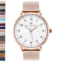 cbe6ed606157 BUILD YOUR OWN - Customize your watch by choosing from dozens of  interchangeable strap options!