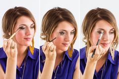 Get a smoldering smokey eye with this tutorial.