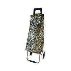 Poussette de marché Golf - 2 roues - léopard