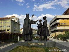 Márton Áron szoborcsoport - Csíkszereda (Sárpátki Zoltán, 2016) | Köztérkép