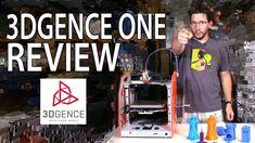 3DGence ONE #3DPrinter Review