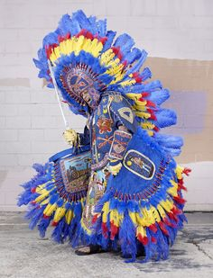 mardi gras indians 2014 > charles freger