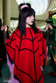 lydia deetz from beetlejuice san diego comic con 2015