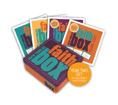 Faith Box: Two-Year Set (includes 8 manuals) —