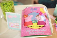 Personalised Peppa Pig book - start in the words and pictures at www.penwizard.co.uk