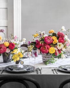 """Shortly after their 2009 wedding, Adam and Alicia Rico partnered up once more—this time in business. The New Yorkers relocated to the bride's hometown of Dallas and opened Bows and Arrows, a boutique known for lush, stylish displays that make beautiful use of native flora. """"My arrangements are pretty avant-garde,"""""""