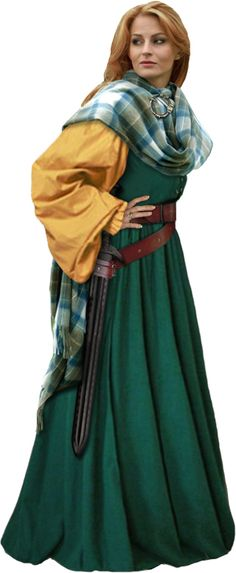 Grace O'Malley costume -- I think this may be on the drawing board very soon.