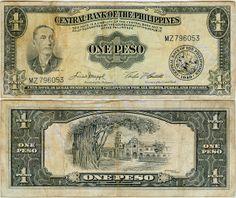 Philippine Peso   philippine 1 peso bill 1