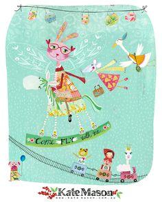 Kate Mason on Lilla Rogers Studio blog