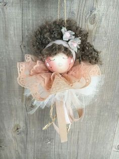 Christmas To Do List, Christmas Wood, Christmas Projects, Holiday Ornaments, Christmas Tree Decorations, Crafts For Teens, Diy And Crafts, Elves And Fairies, Angel Crafts