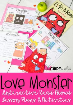 #lovemonster #lovemonsterlesson #thecorecoaches