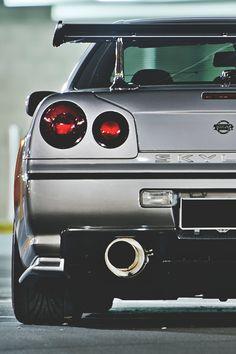 Nissan Skyline GT-R Once or twice . for the adrenaline rush! Nissan Gtr R34, Nissan Skyline Gtr, Nissan Auto, Porsche, Audi, Dream Cars, Ferrari, Mercedes Benz, Japan Cars