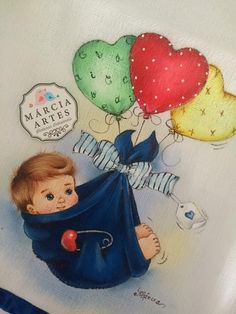 Baby Painting, Fabric Painting, Baby Cross Stitch Patterns, Mini Canvas, Color Pencil Art, Kids Patterns, Baby Art, Frozen Birthday, Baby Quilts