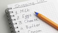 We've all done it at some point: Grocery shopping on an empty stomach. It results in a cart full of chocolates, chips, cookies, pastas, and everything naughty in between! Check out how to make a grocery shopping list for weightloss!