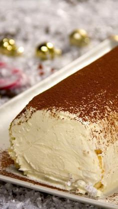 Christmas tiramisu, a dessert that will surprise everyone at Christmas dinner . - Christmas Tiramisu, A dessert that will surprise everyone at Christmas dinner, # tiramisu - Easy Holiday Desserts, Winter Desserts, Desserts For A Crowd, Christmas Desserts, Holiday Recipes, Christmas Dinners, Easter Recipes, Sweet Recipes, Cake Recipes