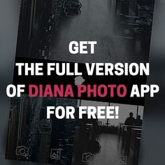 Surprise, surprise! On my ‪#‎Instagram‬ (@thedianasblog) profile you will find the tip how to get the full version of ‪#‎DianaPhotoApp‬ totally for free! <3
