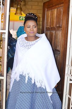 It is acceptable that the shweshwe dresses 2019 trending styles are absolutely catchy. The shweshwe bolt gives styles an arresting attending Latest African Fashion Dresses, African Print Dresses, African Dress, African Attire, African Wear, Wedding Dress Styles, Wedding Outfits, Shweshwe Dresses, African Traditional Dresses