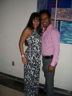 Con la super bailarina Griselle Ponce !