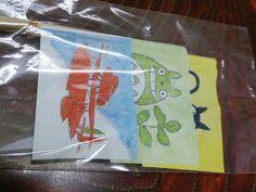 スタジオジブリ●三鷹の森美術館■cafe麦わら帽子/旗セット < アニメ/コミック/キャラクター