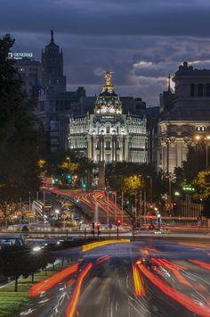 allthingseurope: Madrid, Spain (by ayhanaltun) (via shakypigment)