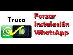 Cómo instarlar WhatsApp en Tablet Incompatible   Android Fácil