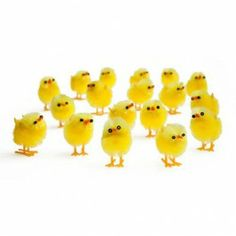 These cute Easter chick decorations are perfect for Easter crafting and even Easter bonnet decorations! Here Comes Peter Cottontail, Easter 2015, Party Themes For Boys, Easter Treats, Cute Food, Happy Easter, Cute Animals, Easter Chick, Pets
